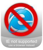 forget IE, use a browser instead